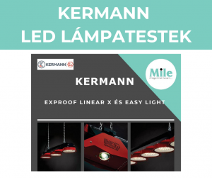 KERMANN – LED lámpatestek