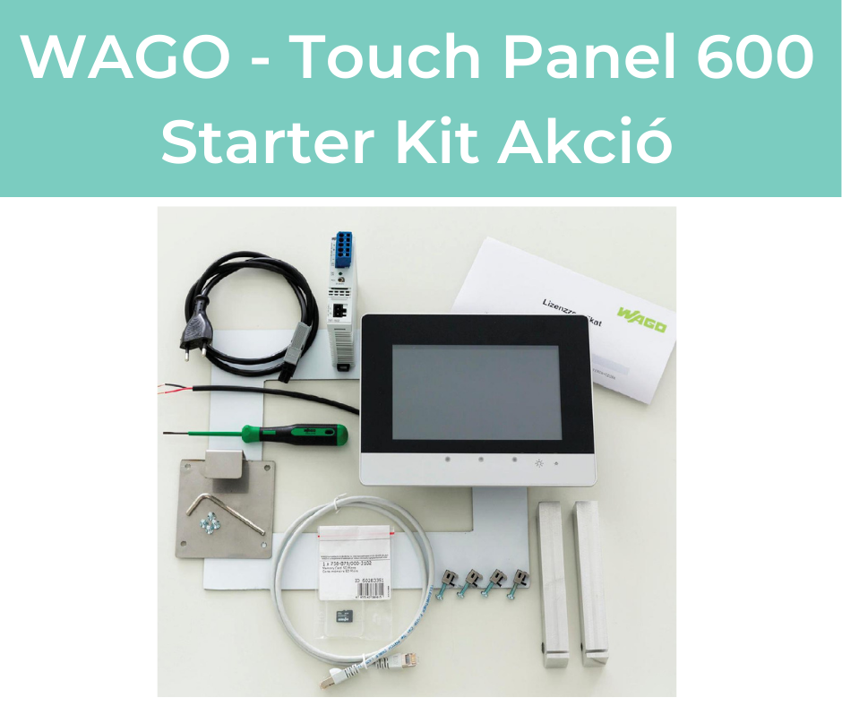 WAGO – Touch Panel 600 Starter Kit Akció